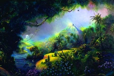 как выглядит рай