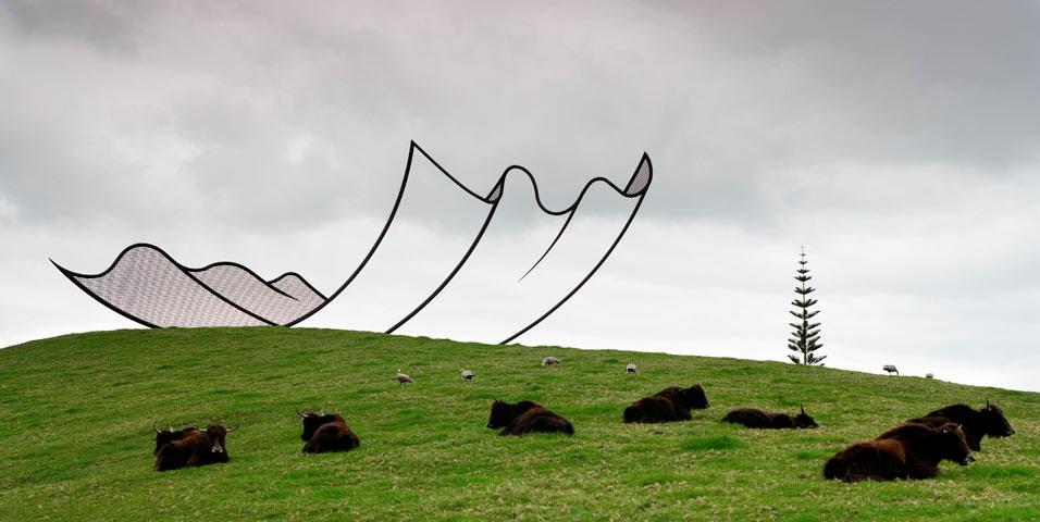 скульптура из новой зеландии
