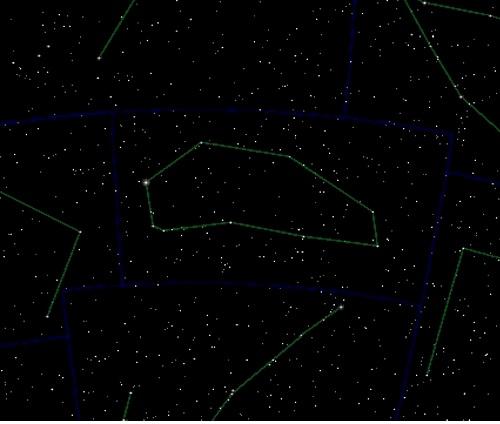 звезды созвездия Южная Рыба