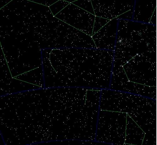Звезды в созвездии южная корона